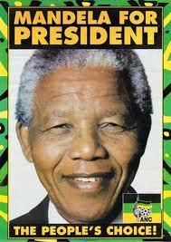 Nelson Mandela becomes president.